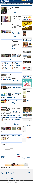 DesMoinesRegister.com at Saturday April 20, 2013, 10:04 a.m. UTC