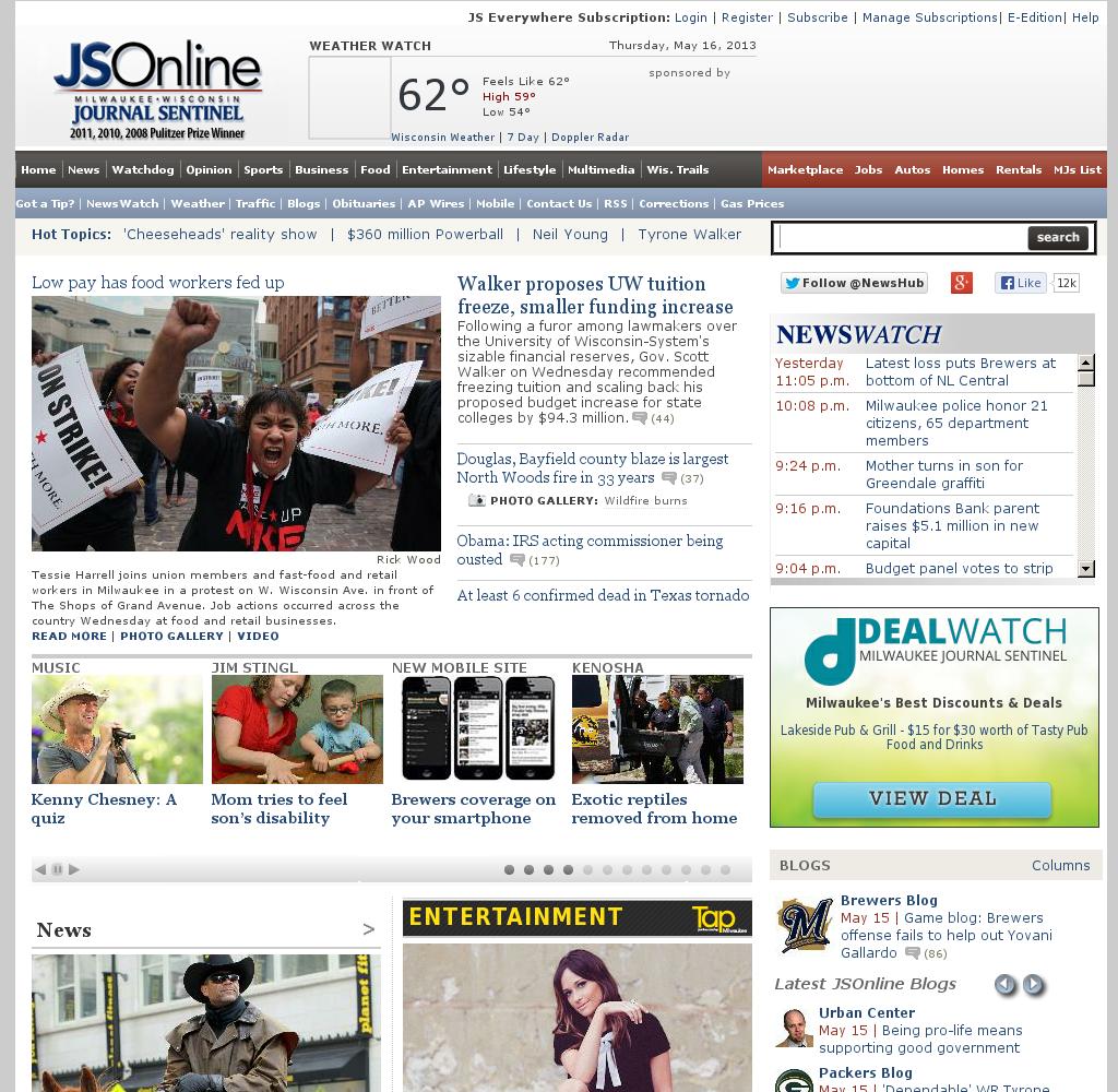 Milwaukee Journal Sentinel