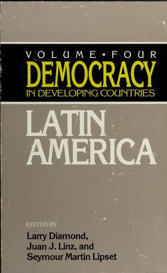 Cover of: Democracy in Developing Countries |