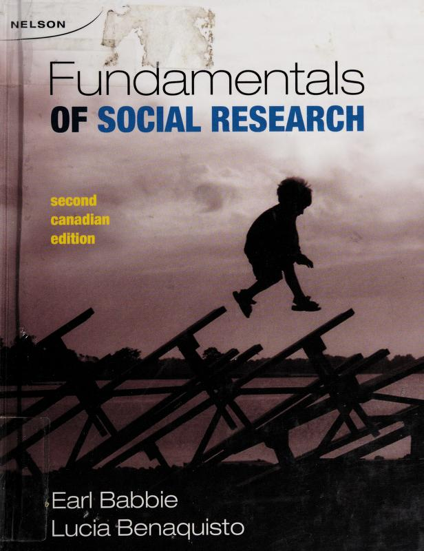 Fundamentals of social research by Earl R. Babbie
