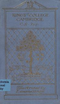 Cover of: King's college, Cambridge | Fay, C. R.