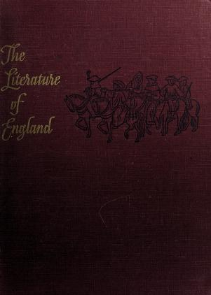 Cover of: The literature of England | George Benjamin Woods
